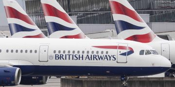 LONDON, ENGLAND - SEPTEMBER 09: British Airways plane taxies after landing at Heathrow's Terminal 5 on September 9, 2019 in London, England. British Airways pilots have begun a 48 hour 'walkout', grounding most of its flights over a dispute about the pay structure of it's pilots.   (Photo by Dan Kitwood/Getty Images) EU watchdog approves plans for Vodafone to join its partners for the Ethiopia entry EU watchdog approves plans for Vodafone to join its partners for the Ethiopia entry British Airways 360x180