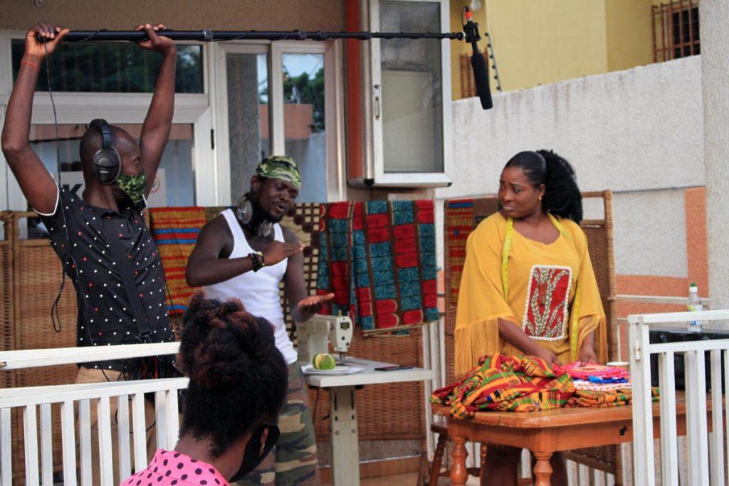 Corona Life: Ghana changing behavior through a drama series Corona Life 1024x683