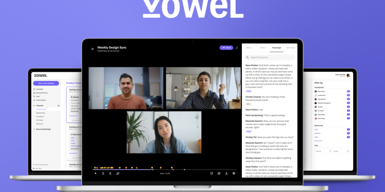 Microsoft Teams and Zoom have a new competitor Vowel video app 750x375