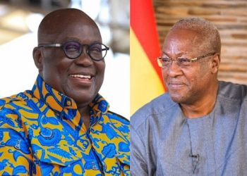 Consolidated Bank Ghana to support growth of SMEs with new SME series Ghana President Nana and former President Mahama 350x250