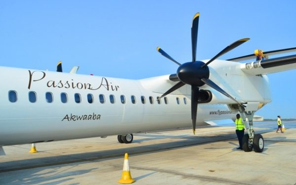 Passion Air - norvanreports why airlines have suspended operations between accra and wa airport Why airlines have suspended operations between Accra and Wa airport Passion Air norvanreports 600x375