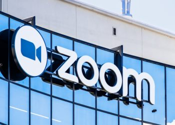 September 3, 2019 San Jose / CA / USA - Close up of Zoom sign at their HQ in Silicon Valley; Zoom Video Communications is a company that provides remote conferencing services using cloud computing  Nigeria's foreign reserve rises by $79.1 million in July 2021 Zoom 2 350x250