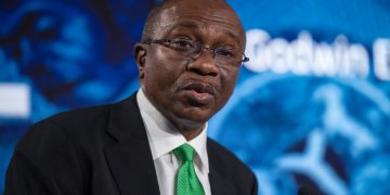 Godwin Emefiele, Governor of Central Bank of Nigeria, speaks at the Nigeria Capital Markets and Banking Forum.  Chris J Ratcliffe / Bloomberg Moody's rates Ghana's IDR at B3 with a negative outlook Moody's rates Ghana's IDR at B3 with a negative outlook CBN Boss 360x180