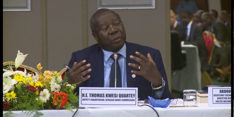 H.E Thomas Kwesi Quartey - norvanreports  Ghana must be ready to host Africans as AfCFTA starts – AUC Deputy Chair H