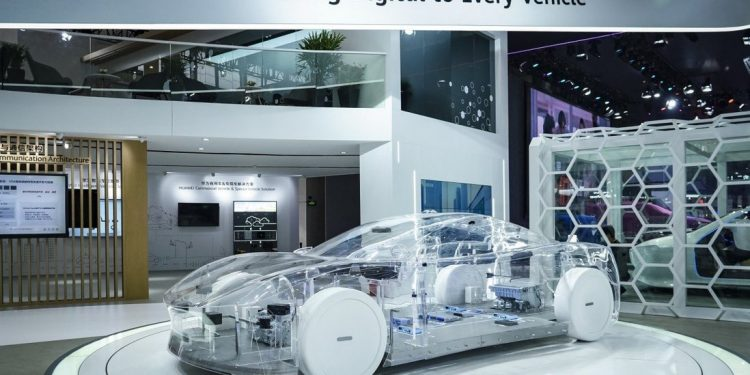 Huawei moves into smart vehicles as US sanctions stymie 5G and semiconductor ambitions Huaweis digital vehicle 750x375