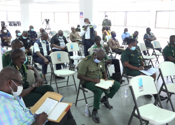 Security agencies at Ghana's Ports assess contingency plans to tackle national emergencies GPHA 1 350x250