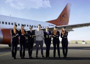 KamAir all female flight crew - norvanreports  Frontier seeks price of $19-21 per share for initial public offering KamAir all female flight crew norvanreports 350x250