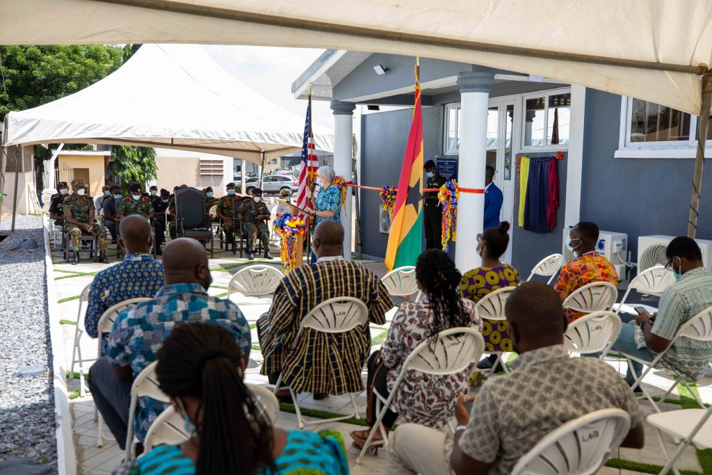 u.s. ambassador sullivan inaugurates malaria-focused laboratory at 37 military hospital U.S. Ambassador Sullivan inaugurates Malaria-focused laboratory at 37 Military Hospital 2W2A3647 1024x683