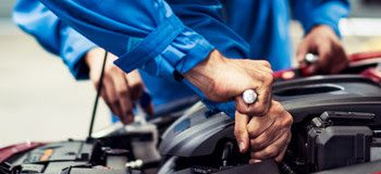 banner of automobile mechanic man and team checking car damage broken part condition, diagnostic and repairing vehicle at garage automotive, motor technician maintenance after service concept economies in the financial spotlight in 2021 Economies in the financial spotlight in 2021 IMF 9 350x160