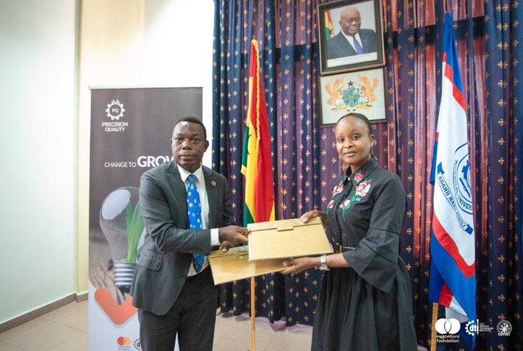 DTI signs MoU with Ho Technical University to train young Ghanaians in TVET WhatsApp Image 2021 05 01 at 04