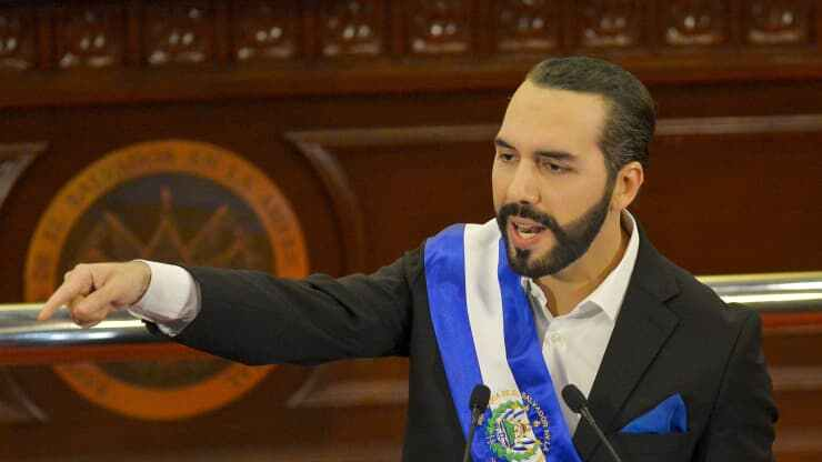 El Salvador becomes first country to adopt bitcoin as legal tender after passing law President of Salvador