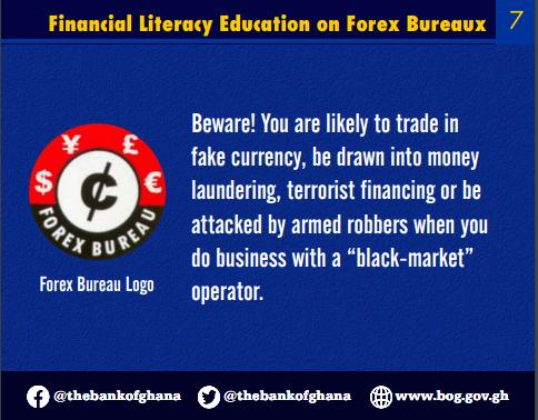 bog warns forex bureaux against engaging in forex forward trading BoG warns forex bureaux against engaging in forex forward trading image 17