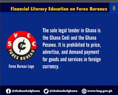 bog warns forex bureaux against engaging in forex forward trading BoG warns forex bureaux against engaging in forex forward trading image 18
