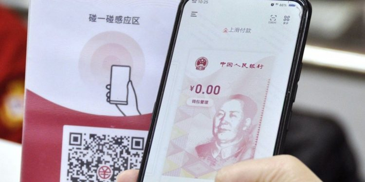 foreign travelers to china will be able to use the digital yuan, central bank says Foreign travelers to China will be able to use the digital yuan, central bank says digital yuan 750x375