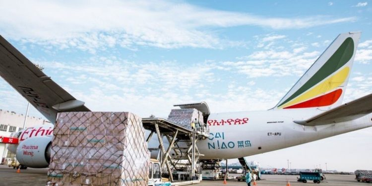 Cargo Handling: Ethiopian Airlines enters top 25 league Cargo Handling: Ethiopian Airlines enters top 25 league Ethiopian Airlines 750x375