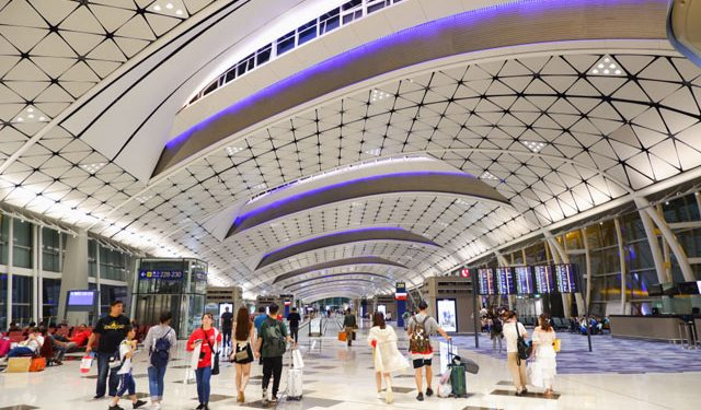 Hong Kong eases entry rules for vaccinated residents, tourists Hong Kong eases entry rules for vaccinated residents, tourists Hong Kong International Airport 640x375