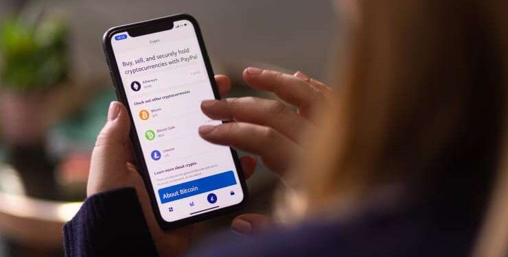 PayPal launches its cryptocurrency service in the UK PayPal launches its cryptocurrency service in the UK Paypal 740x375