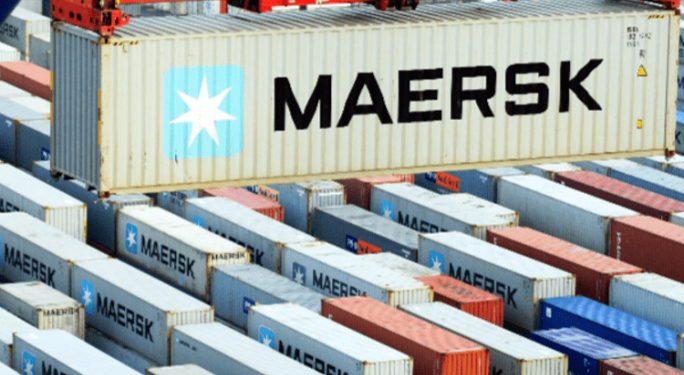 The world's largest container shipping firm posts soaring second-quarter earnings The world's largest container shipping firm posts soaring second-quarter earnings maersk 684x375
