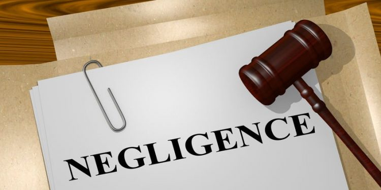"""3D illustration of """"NEGLIGENCE"""" title on Legal Documents. Legal concept. Can my negligence be insured? Can my negligence be insured? what is negligence 750x375"""