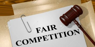 """3D illustration of """"FAIR COMPETITION"""" title on legal document Oil drops 3% on China COVID-19 curbs and stronger dollar Oil drops 3% on China COVID-19 curbs and stronger dollar 65676353 3d illustration of fair competition title on legal document 360x180"""