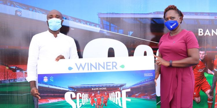 Winners of StanChart's Bank More Score More Campaign receive exciting prizes Winners of StanChart's Bank More Score More Campaign receive exciting prizes BMSM WINNER 750x375