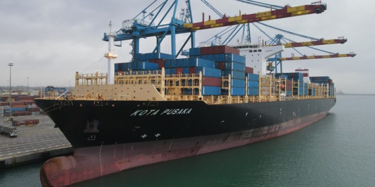 One of PIL's largest vessels calls Ghana One of PIL's largest vessels calls Ghana PIL 750x375