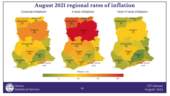 Inflation inches up by 0.7% in August on the back of higher food and housing prices Inflation inches up by 0.7% in August on the back of higher food and housing prices RF