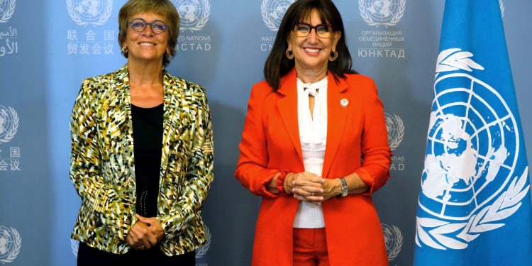 Rebeca Grynspan takes over as head of UNCTAD Rebeca Grynspan takes over as head of UNCTAD Rebeca Grynspan Isabelle Durant 3 1200x675
