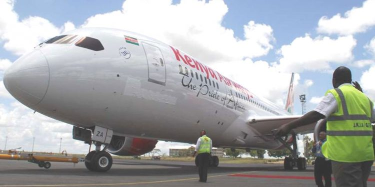 Kenya Airways leases 2 planes to Congo carrier Kenya Airways leases 2 planes to Congo carrier kq 750x375