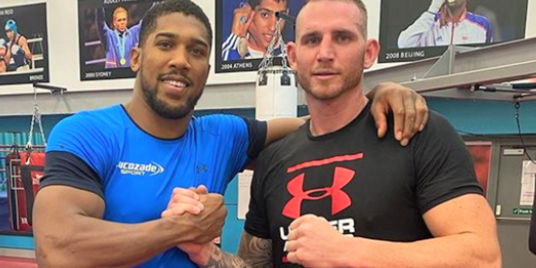 Anthony Joshua is sparring Australia's world-rated heavyweight Demsey McKean ahead of Oleksandr Usyk fight Anthony Joshua is sparring Australia's world-rated heavyweight Demsey McKean ahead of Oleksandr Usyk fight skysports anthony joshua demsey mckean 5504016 1 750x375