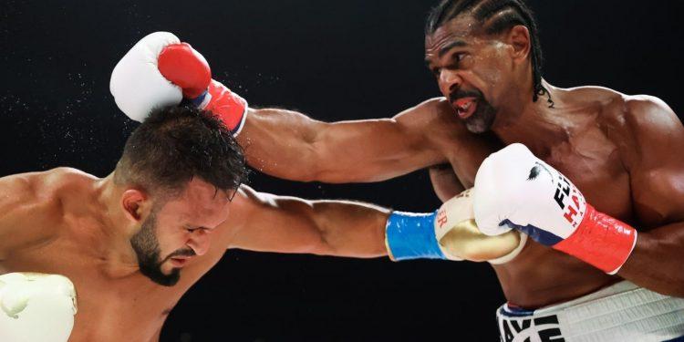 David Haye calls out Tyson Fury after his comeback win: 'I know his kryptonite' David Haye calls out Tyson Fury after his comeback win: 'I know his kryptonite' skysports david haye joe fournier 5509715 750x375