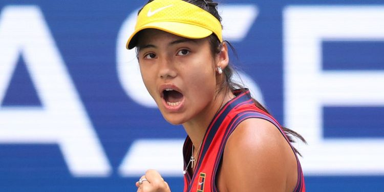 US Open: Emma Raducanu through to maiden Grand Slam quarter-final with Shelby Rogers win US Open: Emma Raducanu through to maiden Grand Slam quarter-final with Shelby Rogers win skysports emma raducanu tennis 5503259 750x375