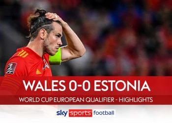 Estonia deal blow to Wales' World Cup qualifying hopes Estonia deal blow to Wales' World Cup qualifying hopes skysports european qualifiers 5505521 350x250