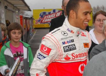 George Russell recalls first Lewis Hamilton encounter, aged 11 in 2009: 'Like meeting a superhero' George Russell recalls first Lewis Hamilton encounter, aged 11 in 2009: 'Like meeting a superhero' skysports lewis hamilton f1 5506496 350x250