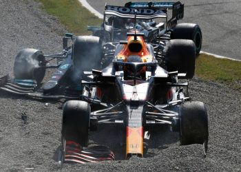 Italian GP: Max Verstappen handed three-place Russia grid penalty after Lewis Hamilton crash Italian GP: Max Verstappen handed three-place Russia grid penalty after Lewis Hamilton crash skysports max verstappen lewis hamilton 5510294 350x250