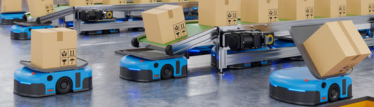 Robots efficiently sorting hundreds of parcels per hour(Automated guided vehicle) AGV.3d rendering How to tax in Asia's digital age How to tax in Asia's digital age unnamed 16